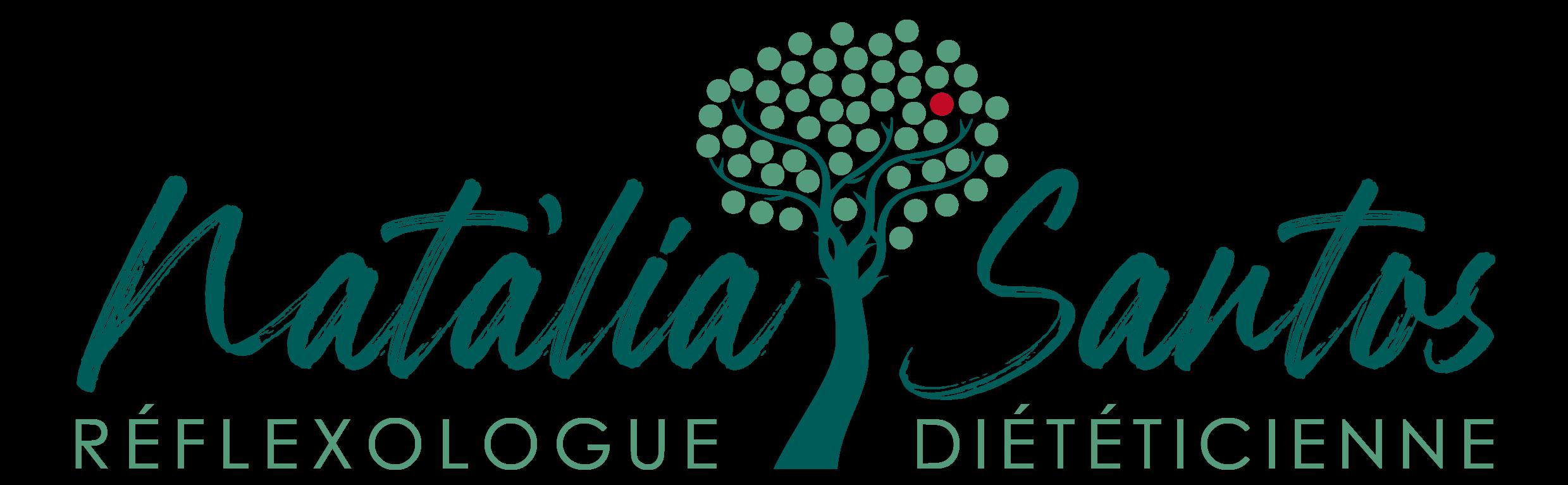Logo Natàlia Santos - Diététicienne | Réflexologue